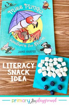 Grab our FREE printable and see our snack idea to use with Miss Mingo Weathers The Storm. It's a great Literacy Snack Weather Read-Aloud addition to your book collection.