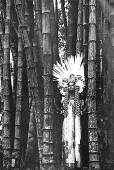 Verushka, photographed by Franco Rubartelli circa 1969.