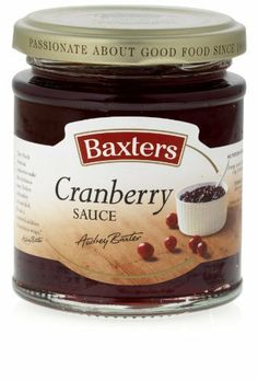 Baxters Feinkost Cranberry Sauce 190g, 2er Pack (2 x 190 g) von Baxters Feinkost, http://www.amazon.de/dp/B00GGB7TRO/ref=cm_sw_r_pi_dp_1bLytb0BYPNGJ