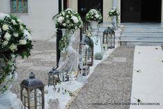 στολισμος γαμου ρομαντικος Sidewalk, Table Decorations, Plants, Wedding Ideas, Home Decor, Decoration Home, Room Decor, Side Walkway, Walkway