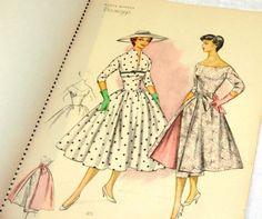 Vintage Catalogue of Fashions 'Bozur' 1957 Soviet USSR Catalog Fashion Sewing Patterns