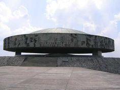 Memorial at Majdanek Death Camp, near Lublin Poland