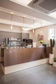 Coffee Shop Design, Cafe Design, Store Design, Interior Design, Wood Interiors, Office Interiors, Star Cafe, Office Waiting Rooms, Cafe Shop