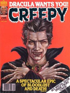 Cover for Creepy (Warren, 1964 series) #111  September 1979