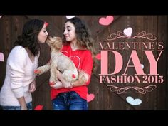 Valentine's Day Fashion 2015   Brooklyn and Bailey - YouTube