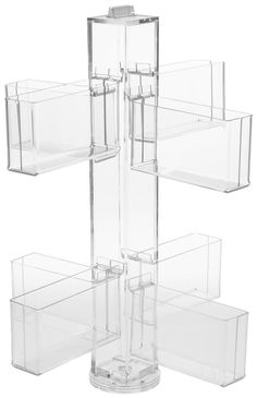 Amazon.com: Greeting Card Rack, Countertop or Tabletop, Spinning, 8 Pockets Hold 192 Cards Total (Clear Acrylic): Home & Kitchen Pegboard Display, Garage Storage Shelves, Wire Shelving Units, Metal Shelves, Storage Units, Book Furniture, Workshop Storage, Retail Store Design, Acrylic Display