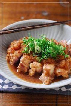 お酢でサッパリ♥鶏のみぞれ煮 by なお★nao