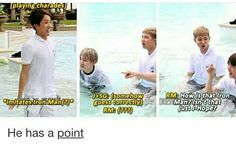 The one time Rap Monster gets something wrong.