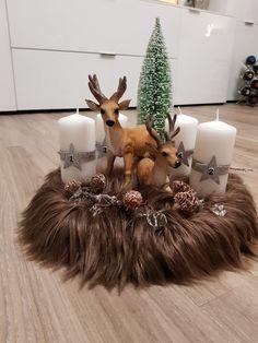 Snoopy Christmas, Christmas Nativity, Christmas Home, Handmade Christmas, Christmas Wreaths, Christmas Crafts, Christmas Ornaments, New Years Decorations, Christmas Table Decorations