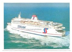 1987 Ferry VERSAILLES SEALINK line from by FascinatingHobbies