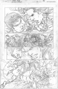 Interview: Ivan Reis Talks Trinity War and JUSTICE LEAGUE - Comic Vine