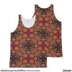 Kaleidoscope Fun NoPP6 All-Over Print Tank Top
