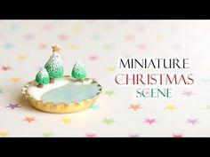 Kawaii Christmas Peppermint Frappe│Polymer Clay Tutorial - YouTube