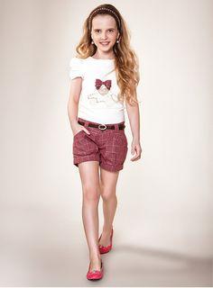 Blusa com Shorts Diforini