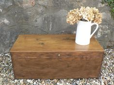 Vintage Pine Tack Box Early 20 Century by RubydoDesigns on Etsy