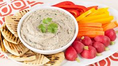 Roasted Garlic and Eggplant Dip - Recipes - Best Recipes Ever - Looking for a new flavour combination for a party dip? Here, eggplant and mild roasted garlic are accented with fresh herbs and balsamic vinegar.