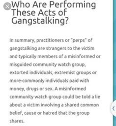 57 Best Targeted Individuals | Gang Stalking images in 2019