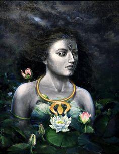 Durga Maa Paintings, Durga Painting, Lord Shiva Painting, Dot Art Painting, Indian Art Paintings, Landscape Pencil Drawings, Beautiful Flowers Pictures, India Art, Goddess Art