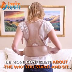 Magnetic Therapy Posture Corrector 😍 To improve posture, simply slip the adjustable straps over your shoulders and secure the closure. Your posture wi. Health And Beauty, Health And Wellness, Health Tips, Health Fitness, Blog Logo, Posture Corrector, Improve Posture, Back Exercises, Massage Therapy