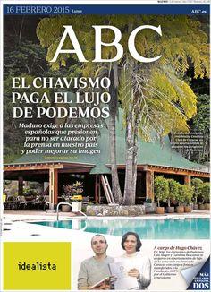 Diario ABC del 16 Febrero 2015 Recordar que puede visualizar las noticias en vídeo desde http://www.youtube.com/vendopor