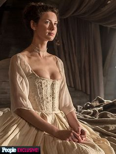FIRST LOOK: Claire Marries Jamie on Outlander (PHOTOS) - Outlander : People.com | #OutlanderWedding Episode 107, 'The Wedding'