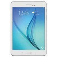 "Samsung Galaxy Tab A 8"" HD Tablet, Samsung Quad-Core Processor, 16GB Storage, Android 5.0, White"