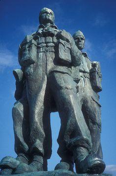 Commando Monument, Spean Bridge, Scotland