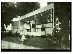 Exterior Of The Pavilion De L'esprit Nouveau, Paris, 1925