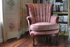 furniture redos In this Channel Back Chair video, you will learn several upholstery skills. This Channel Back Chair is an advanced upholstery project. Run time 5 hours. Reupholster Furniture, Furniture Upholstery, Upholstered Chairs, Wingback Chair, Furniture Design, Clean Upholstery, Furniture Logo, Swivel Chair, Luxury Furniture