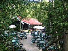 Restaurant De Berenkuil in de Schoorlse duinen.