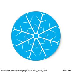 Snowflake Sticker Badge Designs Gift Ideas and Decorations Christmas Stickers, Merry Xmas, Cool Diy, Kids Gifts, Special Gifts, Snowflakes, Craft Supplies, Badge, Gift Ideas