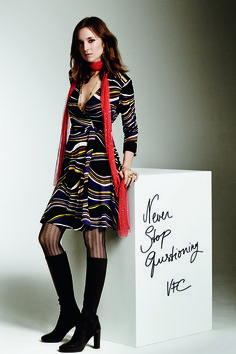 Valentine Fillol-Cordier in the #DVF Times for #TheStyleReport.