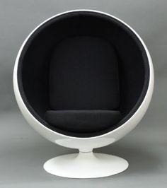 Ball Chair  —  Eero Aarnio  in 1963 for Adelta