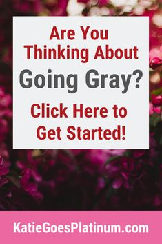 Gray Hair Resources - Going Gray - Beauty Tips and Tricks Grey Hair Journey, Going Gray Gracefully, Grey Hair Don't Care, Grey Makeup, Transition To Gray Hair, Hair Colorist, Hair Photo, Silver Hair, Just Go