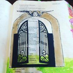 Lift up your head o ye gates! #biblejournaling #illustratedfaith #