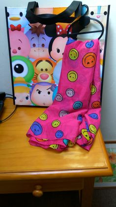 Silky soft large 'Smiley Faces' scarf/shawl and Iceland 'Faces' shopping bag.