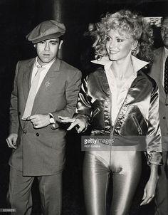 Elton John and Olivia Newton John