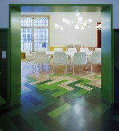 rainbow stockholm apartment - green