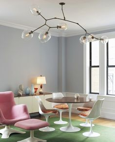 Saarinen Table and Tulip Chairs