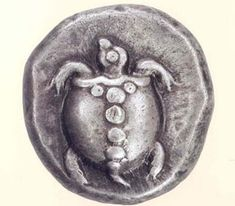 Ancient coins | Ancient Greek Coins - Aegina Silver Stater Coin
