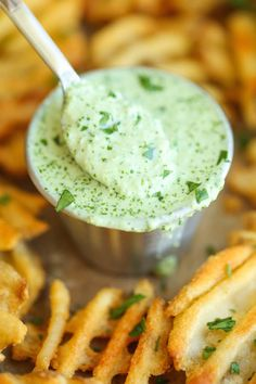 Cilantro Jalapeno Sauce - Damn Delicious The easiest 5 min sauce ever. And you can use this on anything – from grilled meats to fries and even chips for dipping! Sauce Recipes, Cooking Recipes, Dip Recipes, Cooking Tips, Recipies, Amish Recipes, Dutch Recipes, Smoker Recipes, Fingers Food
