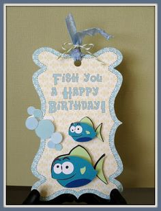 BugJuiced with Debbie: Created using the Pretty Paper, Pretty Ribbons Fishy Friends Cutting Files