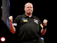 "The greatest darts player Holland has ever produced - ""Barney"" AKA Raymond van Barneveld. You can also be sure the Barney Army is not too far behind!"