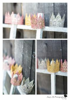 DIY: Lace Crown for your Princess Party | A Dazzle Day