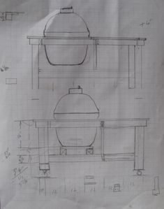 I Have A Kamado Joe Big Joe Still In The Box In Need Of A Table. I Bought  The Stainless Trim Model Without The Stand To Keep The Cost Down Knowing I  ...