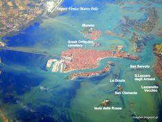 Θεσσαλονίκη-Ιταλία από αεροπλάνο! THESSALONIKI-ITALY from the air !