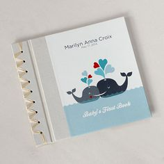 Rag & Bone Bindery's best selling Baby's First Book Personalized