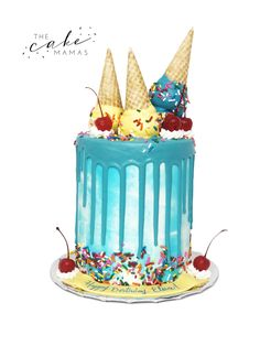 Call or email to order your celebration cake today! Cupcake Cookies, Cupcakes, Cakes Today, Designer Cakes, Drip Cakes, Celebration Cakes, Icecream, Cake Designs, Cake Ideas