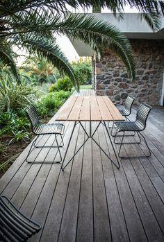 Houe Click Dining collectie #outdoor #design #scandinavischdesign #tuinmeubel #terrasmeubilair #interieur #buitenmeubels