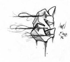 Estilos del alfabeto de graffiti, letras E (6)